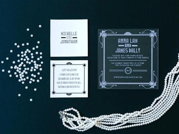 Thiệp cưới acrylic 3