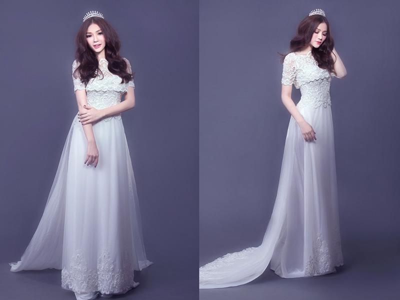 Áo dài váy 2