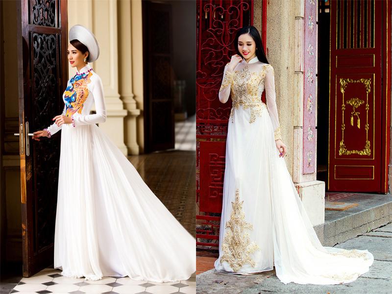 Áo dài váy 5