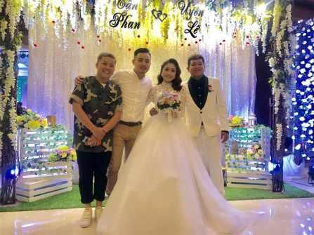 Dàn nghệ sĩ nô nức dự đám cưới của học trò Thu Trang - Tiến Luật