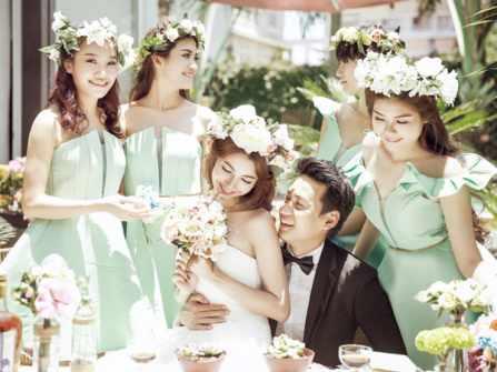 5 xu hướng váy phụ dâu mùa Thu-Đông cho đội hình bưng quả hoàn hảo