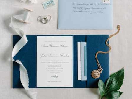 Thiệp cưới sang trọng: 5 sắc thái đẳng cấp cho tiệc cưới 2018