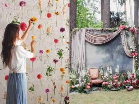 6 mẫu phông đám cưới: Đẹp, hiện đại, độc lạ