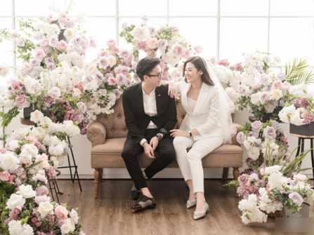 """Bộ ảnh cưới trong studio lần đầu tiết lộ của """"nàng Á"""" Tú Anh"""