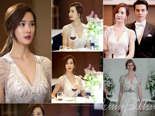 5 chiếc váy cưới của sao Hàn mà cô dâu nào cũng muốn sở hữu