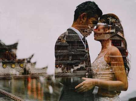 Bộ ảnh cưới Phượng Hoàng Cổ Trấn của đôi uyên ương 9x