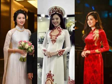 Cùng diện áo dài cưới, mỹ nhân Việt ai đẹp hơn ai?