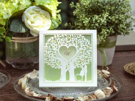 Khung thiệp cưới, đừng quên nếu muốn sở hữu một tấm thiệp đẹp & độc