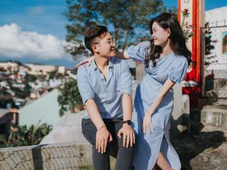 Bộ ảnh cưới chụp ở Đà Lạt chỉ 9,6 triệu mà đẹp như cổ tích