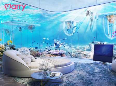 Trăng mật khó quên tại 3 khách sạn dưới biển đắt nhất thế giới
