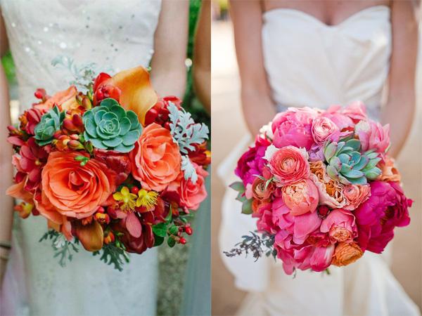 Hoa cưới sen đá 1