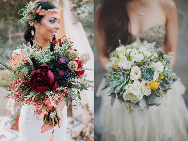 Hoa cưới sen đá 2