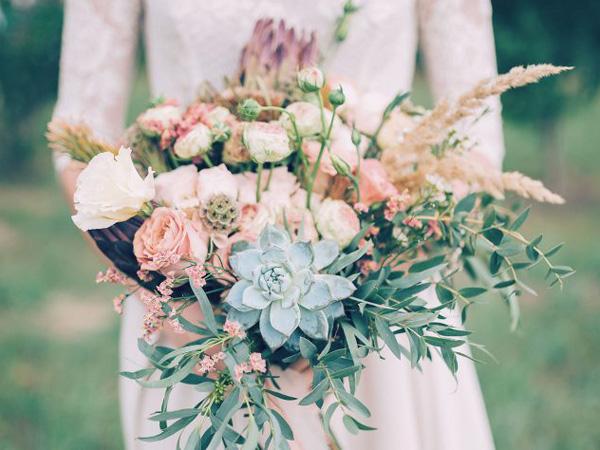 Hoa cưới sen đá 5