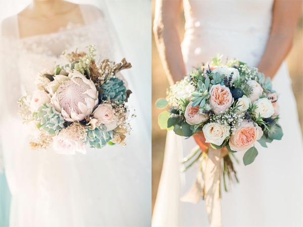 Hoa cưới sen đá 6