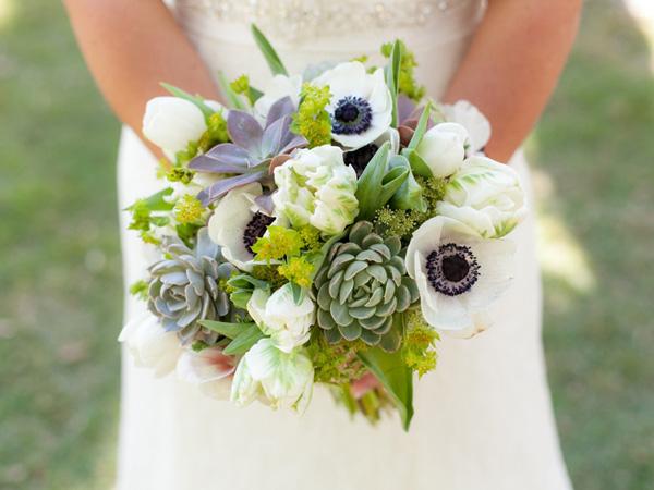 Hoa cưới sen đá 7