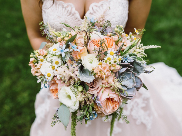 Hoa cưới sen đá 8