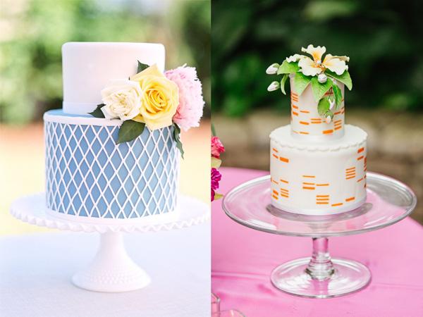 bánh cưới 2 tầng 3