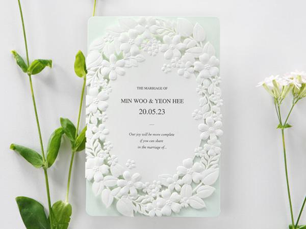 Thiệp cưới Hàn Quốc 3