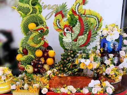 Cách chưng trái cây ngày cưới theo ý nghĩa các loại quả