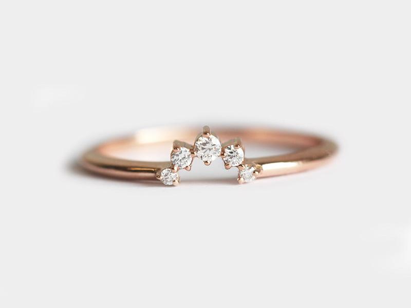 mẫu nhẫn cưới đơn giản sang trọng 5