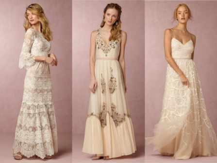 Lãng mạn và phóng khoáng cùng váy phù dâu Bohemian