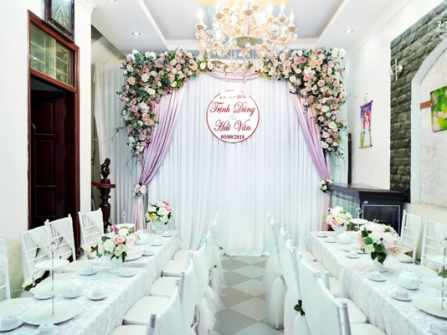 Trang trí tư gia đám cưới