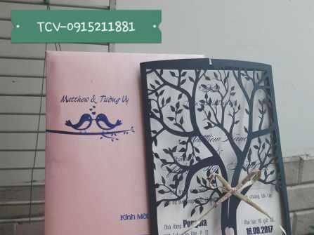 DỊch vụ thiết kế - in ấn thiệp cưới