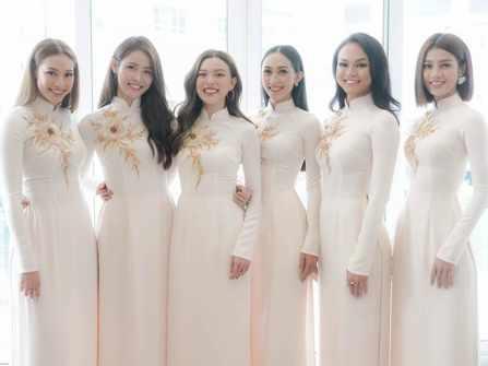Dàn phụ dâu xinh như Hoa hậu trong đám hỏi Lan Khuê