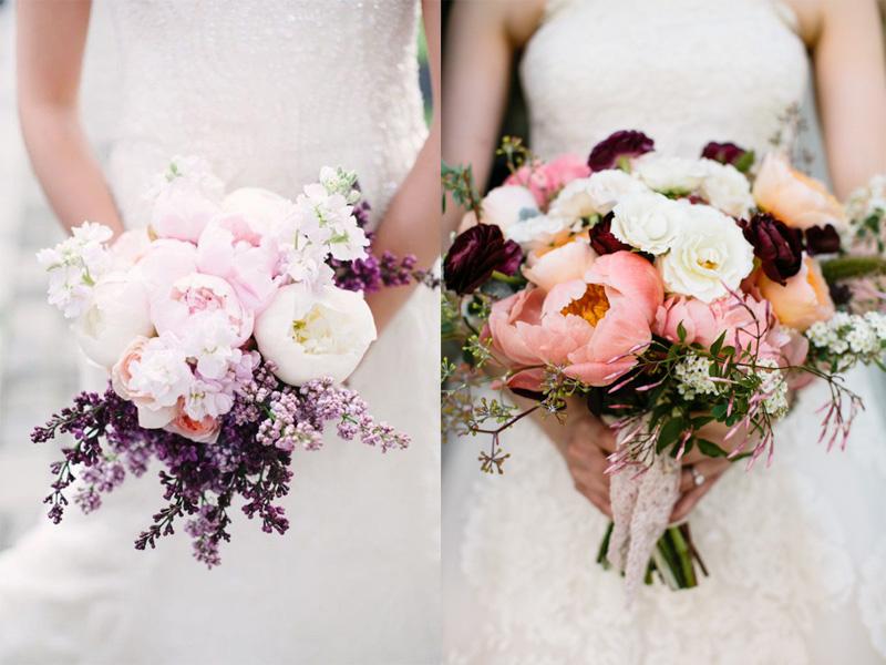 Hoa cưới mẫu đơn 9