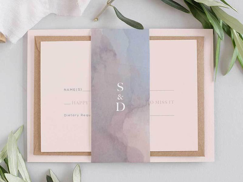 mẫu thiệp cưới đơn giản 6