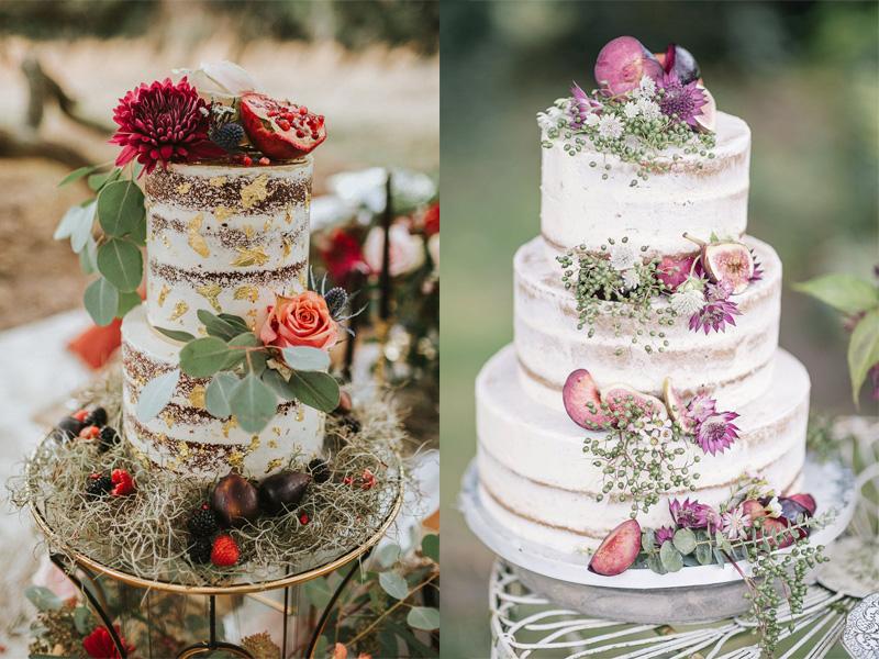 bánh cưới hoa tươi nhiều tầng 11