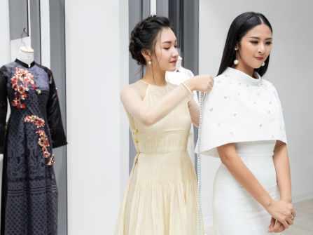 Các số đo chuẩn không thể bỏ qua khi may áo dài cưới