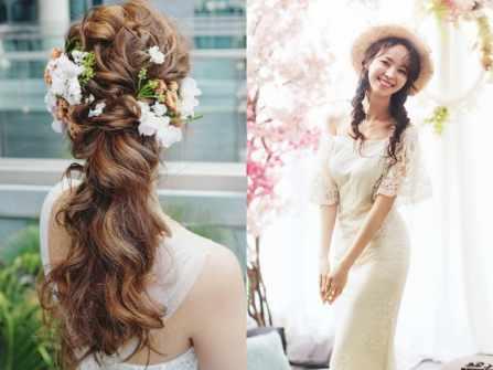 """Hướng dẫn tết tóc cô dâu Hàn Quốc """"đốn ngã"""" mọi con tim"""