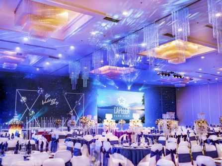 CAPELLA PARK VIEW - Trang trí tiệc cưới sang trọng với Lan Hồ Điệp