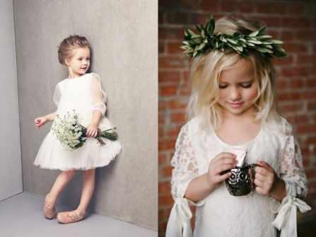 Cách chọn váy phù dâu nhí mùa Đông chuẩn như đám cưới Hoàng gia