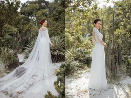 LAHAVA giới thiệu BST Áo dài cưới 2019 cao cấp
