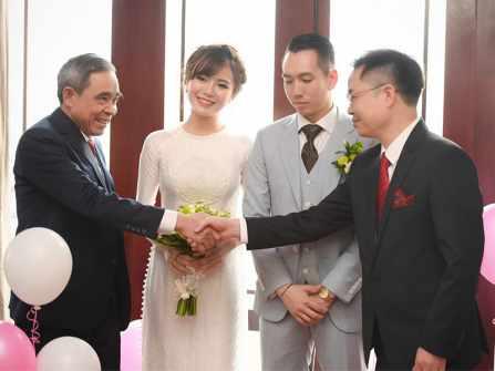 Lưu gấp 2 bài phát biểu trong lễ cưới mẫu cho cặp đôi trẻ sắp cưới