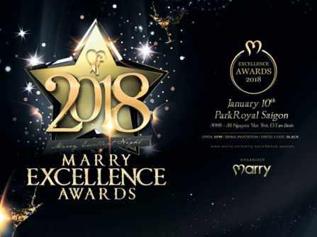 Marry Excellence Awards 2018 - sự kiện vinh danh ngành cưới