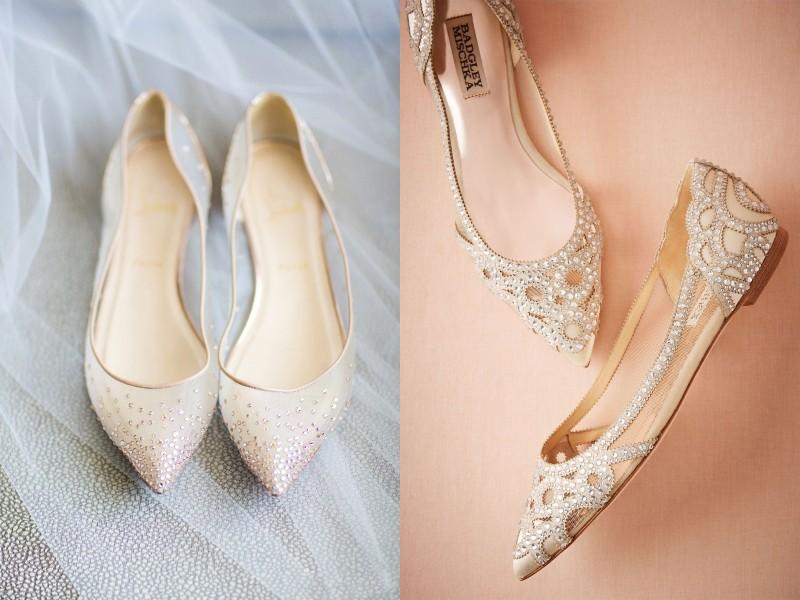 """18 đôi giày cưới bệt xinh """"hết phần thiên hạ"""" cho nàng dâu Việt"""