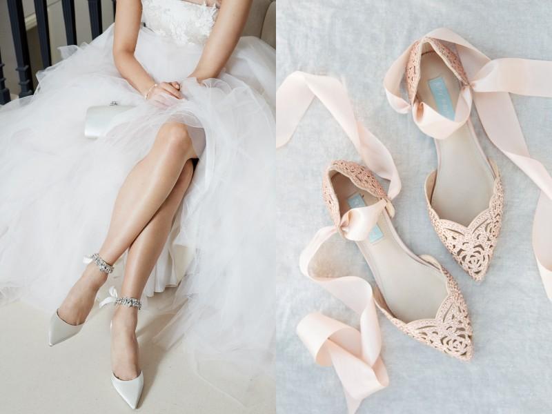 18 đôi giày cưới bệt xinh