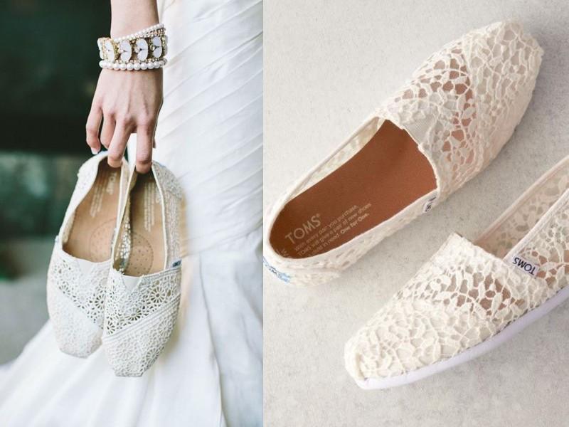 """18 đôi giày cưới bệt xinh """"hết phần thiên hạ"""" cho nàng dâu Việt Marry"""