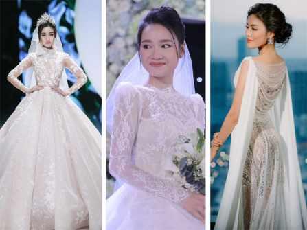 Đọ dáng top 5 đề cử váy cưới đẹp nhất từ Hội đồng Marry Excellence Awards 2018