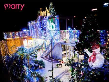 """Dẫn """"gấu"""" đi chơi Noel ở 7 địa điểm lãng mạn bậc nhất Sài Gòn"""