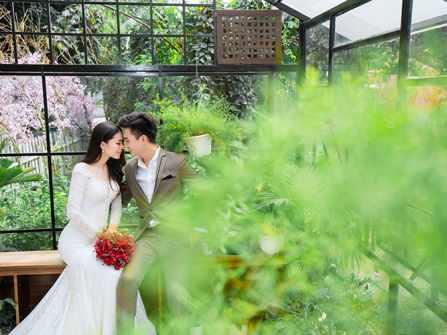 Album hình cưới phim trường Alibaba