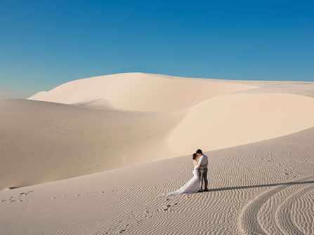 Album hình cưới ngoại cảnh Phan Thiết - Miền cát trắng