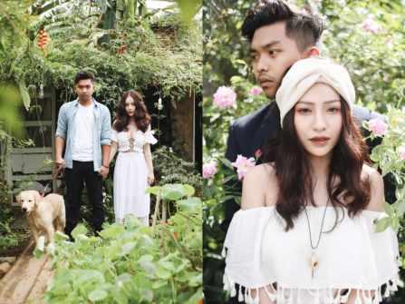Ngất ngây với bộ ảnh cưới đẹp như MV của ca sĩ MiA