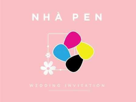 Thiệp cưới nhà Pen