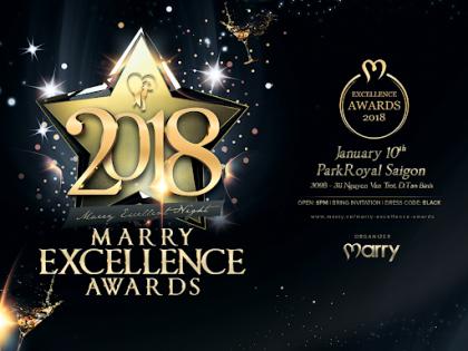 Marry Excellence Awards - Bảo chứng cho chất lượng dịch vụ cưới Việt