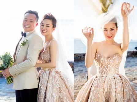 Ca sĩ Vy Oanh chia sẻ ảnh cưới với ông xã trong MV mới
