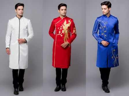10 mẫu áo dài cưới đơn giản mà vẫn nổi bật cho chàng rể mới